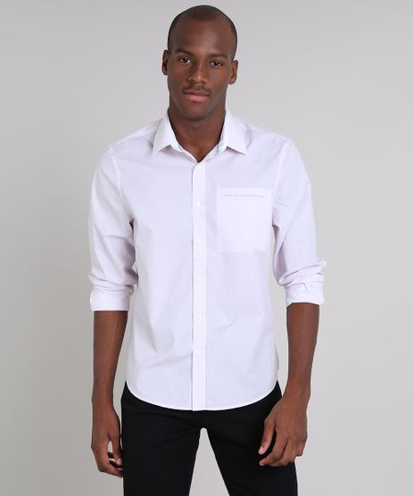 Camisa-Masculina-Comfort-Estampada-com-Bolso-Manga-Longa-Rosa-Claro-9508849-Rosa_Claro_1