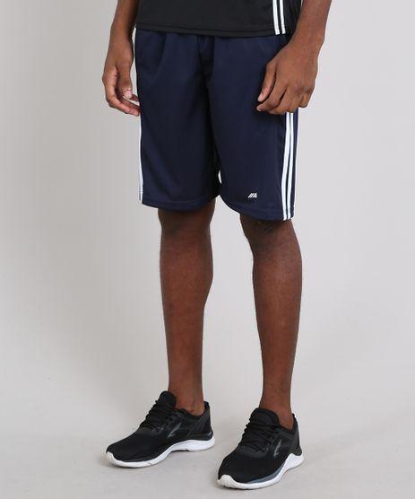 Bermuda-Masculina-Esportiva-Ace-com-Faixas-Laterais-Azul-Escuro-9575652-Azul_Escuro_1