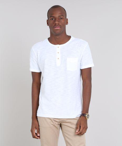 Camiseta-Masculina-com-Bolso-e-Botoes-Manga-Curta-Gola-Careca-Off-White-9356246-Off_White_1