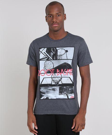 Camiseta-Masculina-Esportiva-Ace--Root-Basket--Manga-Curta-Gola-Careca-Cinza-Mescla-Escuro-9597527-Cinza_Mescla_Escuro_1
