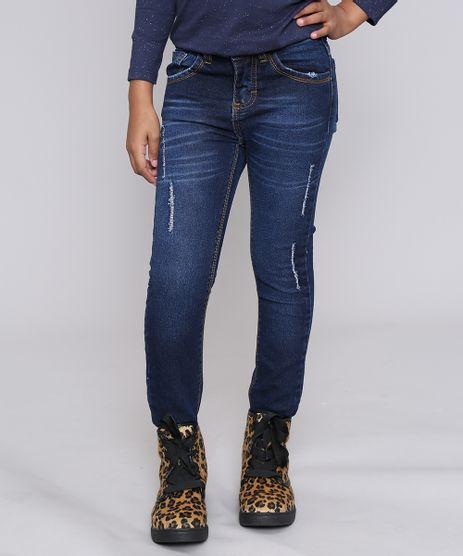 Calca-Jeans-Infantil-com-Puidos-e-Bolsos-Azul-Escuro-9467435-Azul_Escuro_1