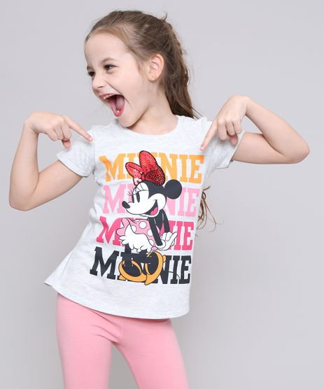 Blusa-Infantil-Minnie-com-Paete-Manga-Curta-Cinza-Mescla-Claro-9547656-Cinza_Mescla_Claro_1
