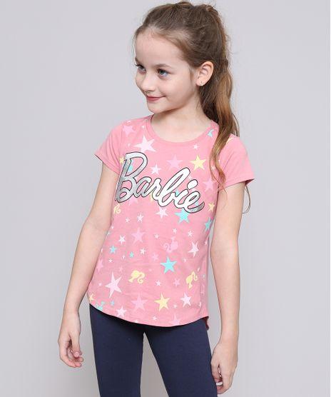 Blusa-Infantil-Barbie-com-Brilho-Manga-Curta-Rosa-9586096-Rosa_1