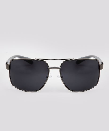 Oculos-de-Sol-Quadrado-Masculino-Oneself-Grafite-9671620-Grafite_1