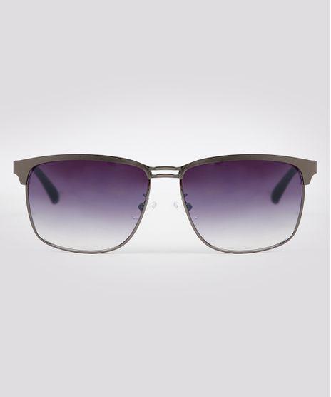 Oculos-de-Sol-Quadrado-Masculino-Oneself-Grafite-9671617-Grafite_1