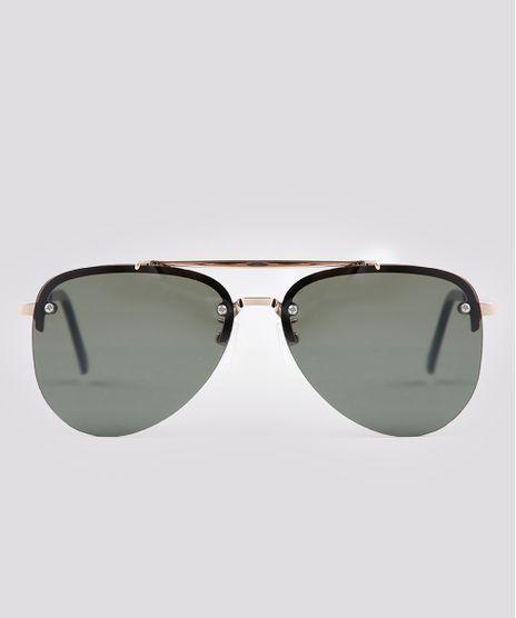Oculos-de-Sol-Aviador-Unissex-Dourado-9671596-Dourado_1