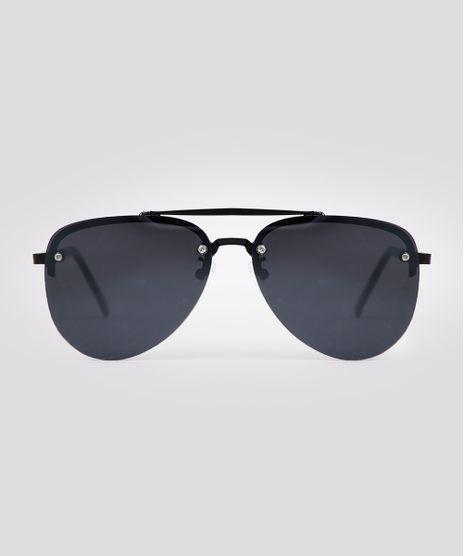 Oculos-de-Sol-Aviador-Unissex-Oneself-Preto-9671576-Preto_1