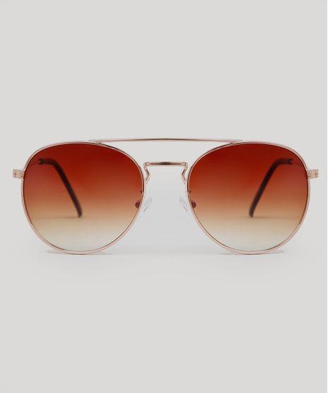 Oculos-de-Sol-Redondo-Unissex-Oneself-Rose-9671564-Rose_1