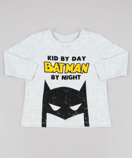 Camiseta-Infantil--Batman-by-Night--Manga-Longa-Cinza-Mescla-Claro-9640557-Cinza_Mescla_Claro_1