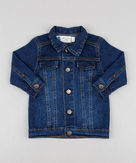 Jaqueta-Jeans-Infantil-com-Pespontos-Azul-Escuro-9612850-Azul_Escuro_1