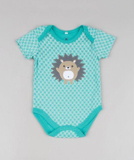 Body-Infantil-Porco-Espinho-Estampado-Manga-Curta-Verde-9584544-Verde_1