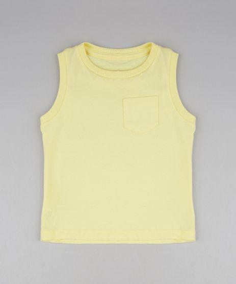 Regata-Infantil-Basica-com-Bolso-Gola-Careca-Amarelo-Claro-9295396-Amarelo_Claro_1