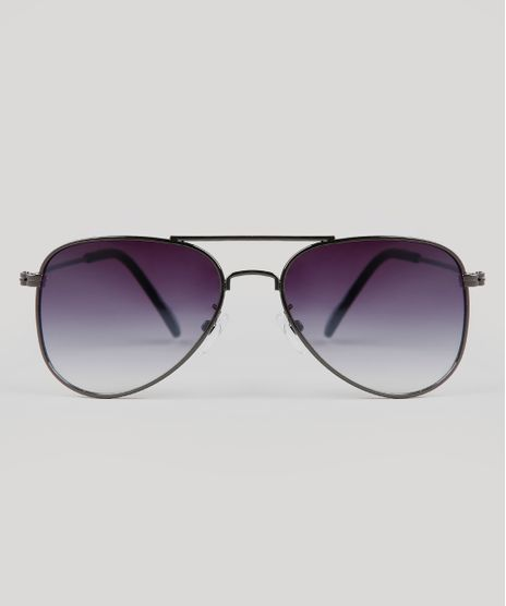 Oculos-de-Sol-Aviador-Infantil-Oneself-Grafite-9674811-Grafite_1