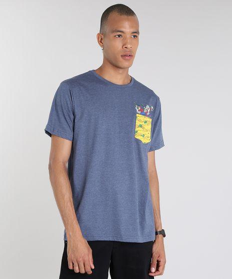 Camiseta-Masculina-Irmaos-Metralha-com-Bolso-Manga-Curta-Gola-Careca-Azul-Marinho-9627520-Azul_Marinho_1