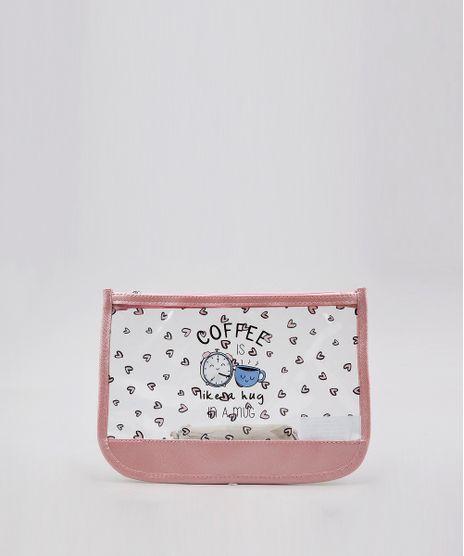 Necessaire-Feminina-Estampada--Coffee-is-Like-a-Hug--Transparente-9654121-Transparente_1