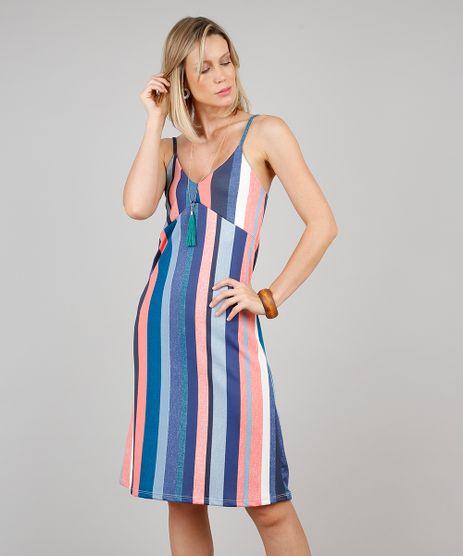 Vestido-Feminino-Curto-Listrado-Alca-Fina-Azul-9610363-Azul_1
