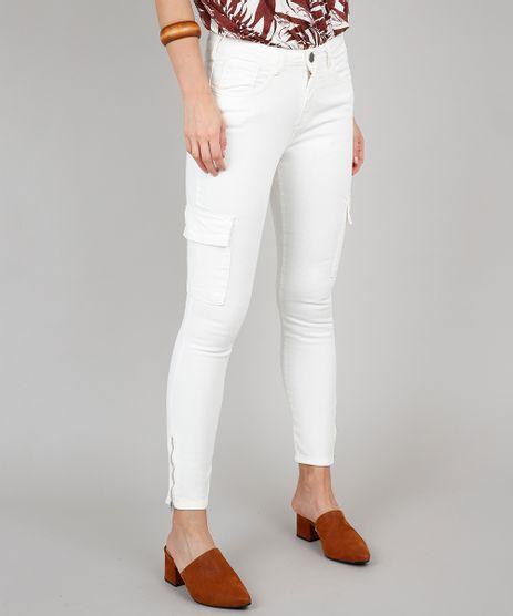 Calca-de-Sarja-Feminina-Skinny-Cargo-Off-White-9628056-Off_White_1