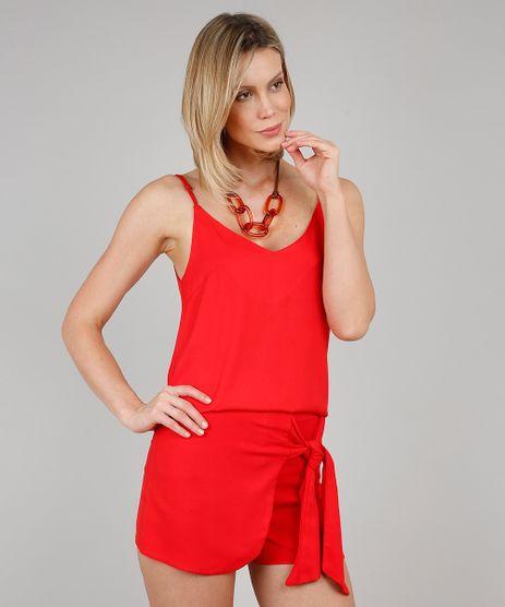 Regata-Feminina-Cropped-Decote-V-Vermelha-9506569-Vermelho_1
