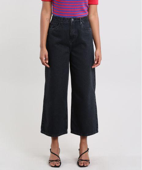 Calca-Jeans-Feminina-Mindset-Pantacourt-Preta-9683310-Preto_1