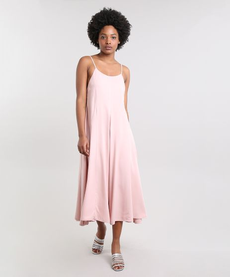 Vestido-Feminino-Mindset-Midi-com-Recortes-Alca-Fina-Rose-9683315-Rose_1