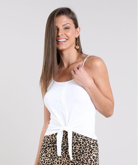 Regata-Feminina-Canelada-com-No-e-Botoes-Alcas-Finas-Decote-Redondo-Off-White-9337371-Off_White_1