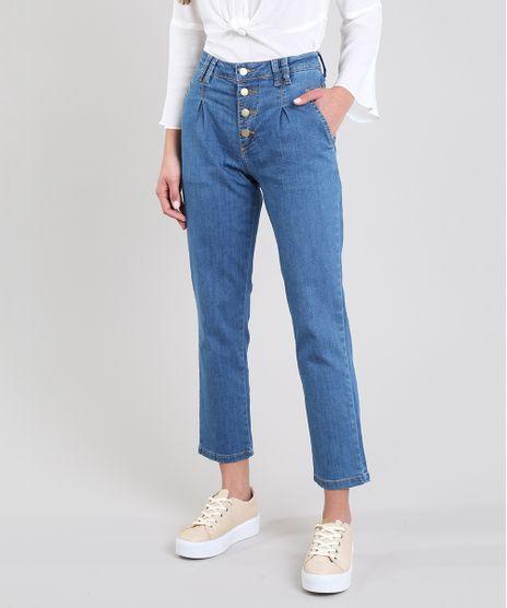 Calca-Jeans-Feminina-Sawary-Mom-Azul-Medio-9619274-Azul_Medio_1