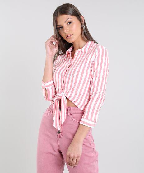 5fcede294db517 Camisas Femininas: Jeans, Xadrez, Social, Branca, Estampada | C&A