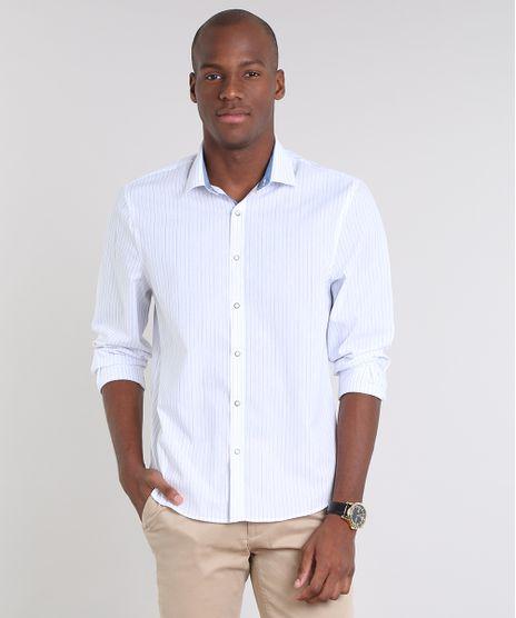 Camisa-Masculina-Comfort-Listrada-Manga-Longa--Branca-9533449-Branco_1