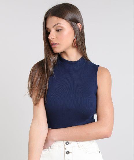 Regata-Feminina-Cropped-Gola-Alta-Basica-Canelada-Azul-8449098-Azul_1