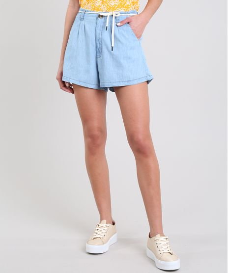 Short-Jeans-Feminino-com-Cadarco-Azul-Claro-9594607-Azul_Claro_1