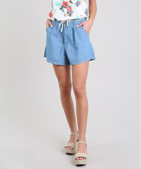 Short-Jeans-Feminino-com-Cadarco-Azul-Claro-9594608-Azul_Claro_1