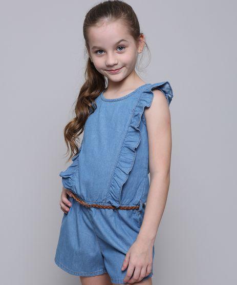 Macaquinho-Jeans-Infantil-com-Babado-e-Cinto-Azul-Claro-9583940-Azul_Claro_1
