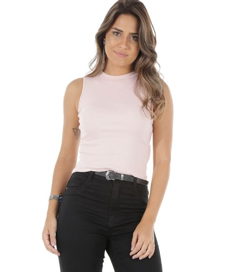 62013ee2a Regata-Cropped-Basica-Rosa-Claro-8549682-Rosa Claro 1