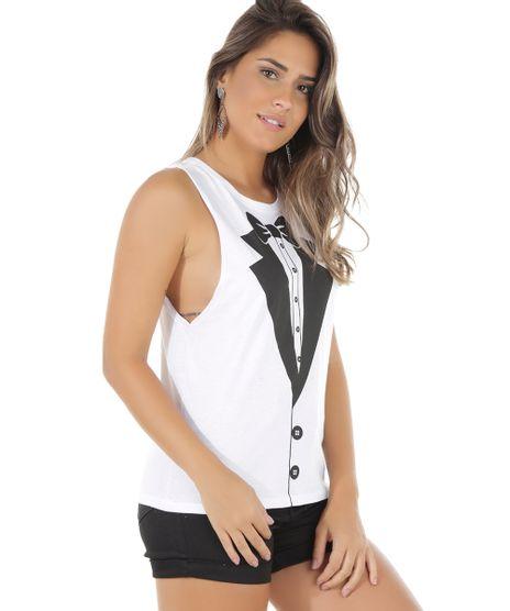 abe7af577a91f Moda Feminina Regata P Noite Branco Algodão – ceaoutlet