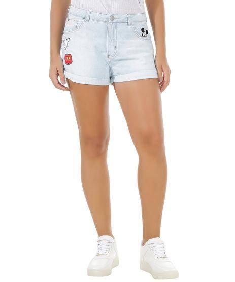 Short-Jeans-Relaxed-com-Patchs-Mickey-Azul-Claro-8556820-Azul_Claro_1