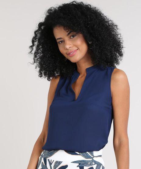 Regata-Feminina-Basica-Ampla-Decote-V-Azul-Marinho-9609957-Azul_Marinho_1