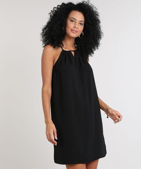 Vestido-Feminino-Curto-Halter-Neck--Preto-9549808-Preto_1