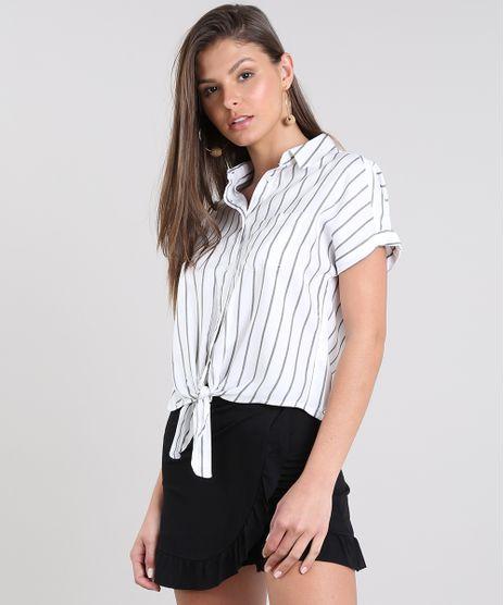 Camisa-Feminina-Cropped-Listrada-com-No-Manga-Curta-Off-White-9521089-Off_White_1
