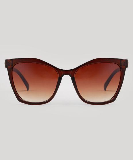 Oculos-de-Sol-Quadrado-Feminino-Oneself-Marrom-9671560-Marrom_1