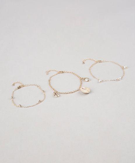 Kit-de-3-Pulseiras-Femininas-Folheadas-Dourado-9558878-Dourado_1