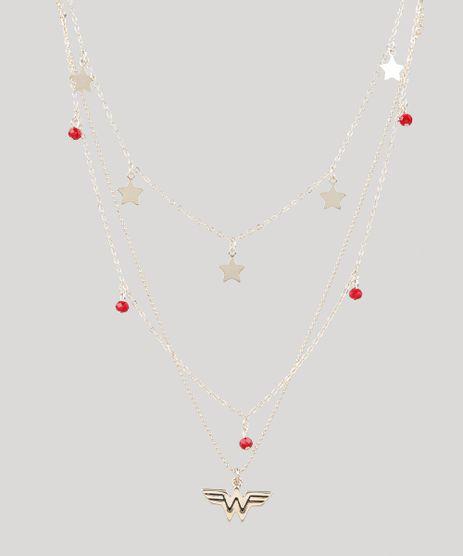 Kit-de-3-Colares-Femininos-Mulher-Maravilha-com-Pingentes-Dourado-9544874-Dourado_1