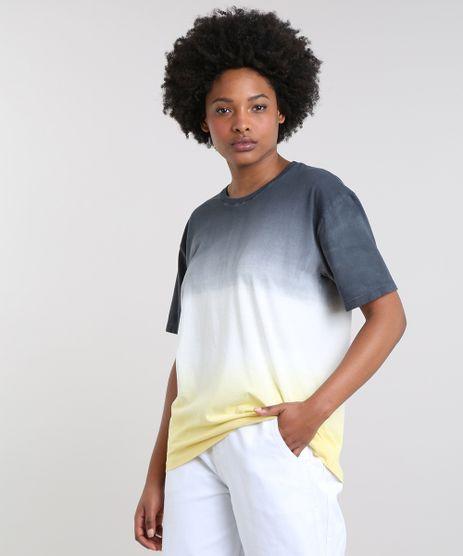T-Shirt-Feminina-Mindset-Ampla-Tie-Dye-Degrade-Manga-Curta-Decote-Redondo-Chumbo-9655185-Chumbo_1