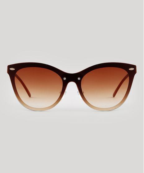 Oculos-de-Sol-Redondo-Feminino-Oneself-Dourado-9672951-Dourado_1