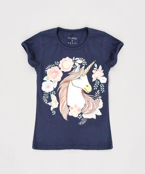 Blusa-Infantil-Unicornio-Manga-Curta-Azul-Marinho-9636683-Azul_Marinho_1