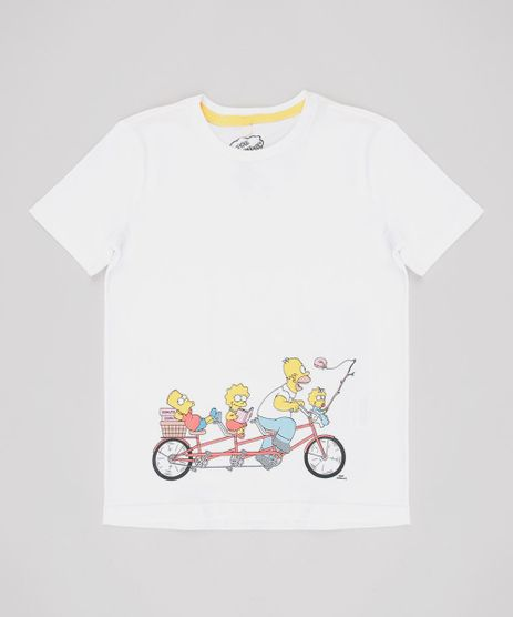 Camiseta-Infantil-Os-Simpsons-Manga-Curta-Off-White-9649878-Off_White_1