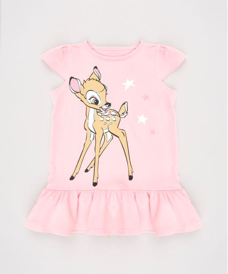Vertido-Infantil-Bambi-com-Recorte-Manga-Curta-Rosa-9632709-Rosa_1