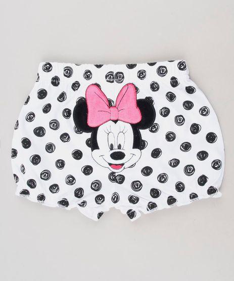 Short-Infantil-Minnie-Balone-Estampado-de-Poa-Branco-9442341-Branco_1