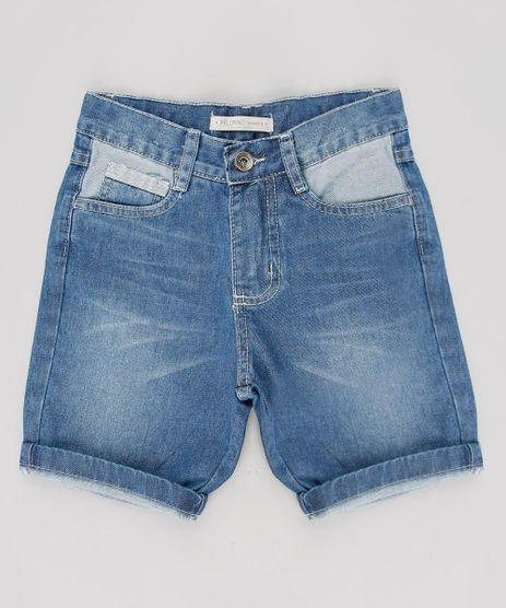 Bermuda-Jeans-Infantil-com-Bolsos-Azul-Medio-9540756-Azul_Medio_1