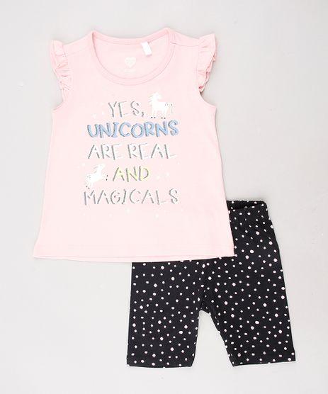 Conjunto-Infantil-de-Regata-com-Babado-Rosa-Claro---Bermuda-Estampada-de-Poa-Preta-9557594-Preto_1