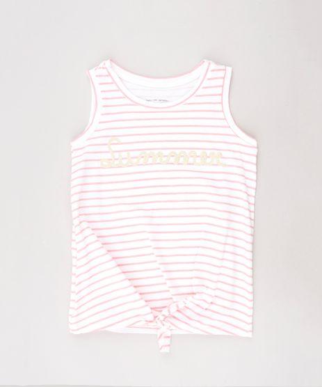 Regata-Infantil--Summer--Listrada-com-No-Manga-Curta-Decote-Redondo-Off-White-9644235-Off_White_1